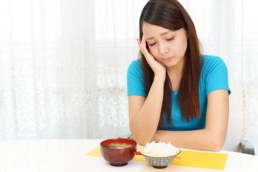 食欲不振の原因は危険な病気!?チェックする方法はある?