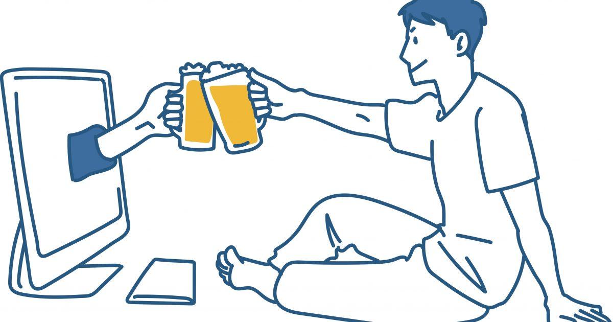 お酒の適量と節度を守った楽しいリモート飲み会