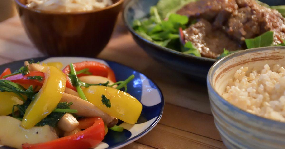 GABA、タンパク質、ビタミンB6が豊富で腸内環境にいい和食の定食